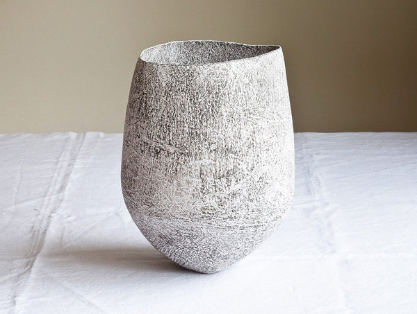 Grey Lithic Vessel