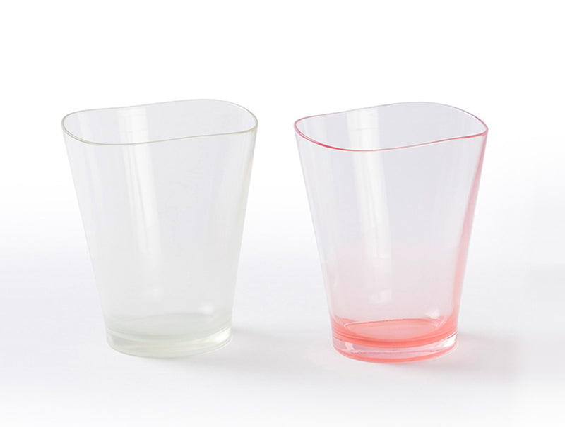 Two Tones Pastel Tumbler Set