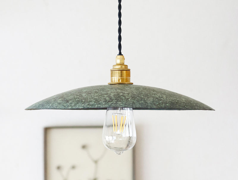 Copper Green Lampshade