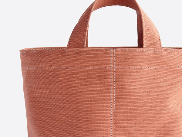Mini Orange Tote Bag