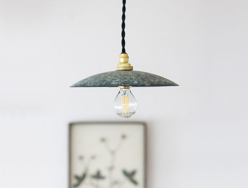 Copper Green Lampshade S