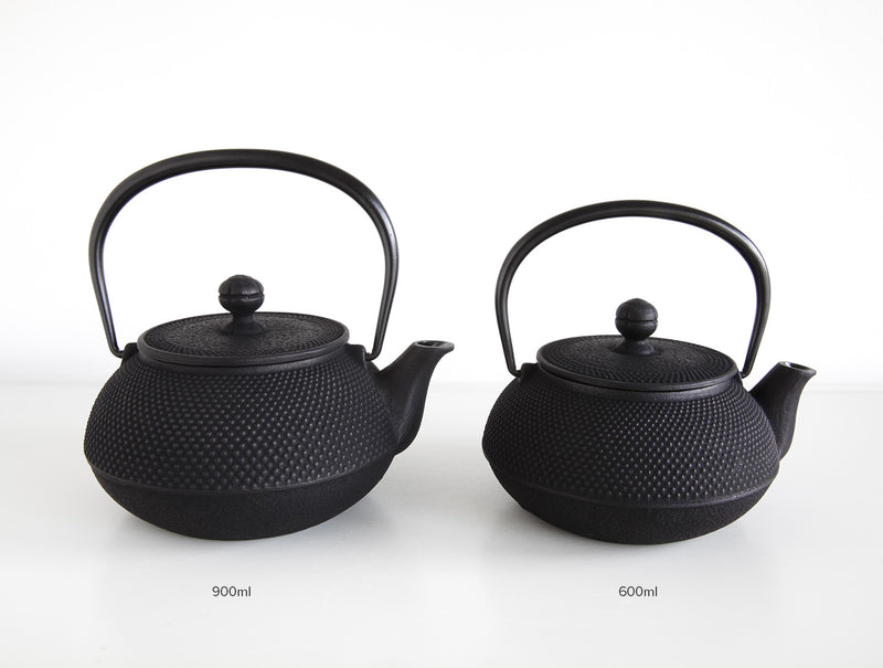 Arare Teapot Black 900ml
