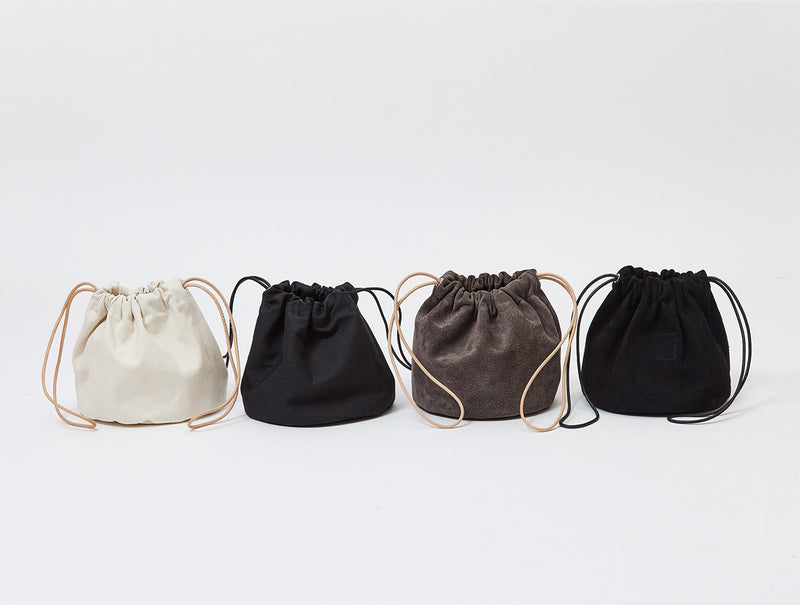 Black Drawstring Pouch