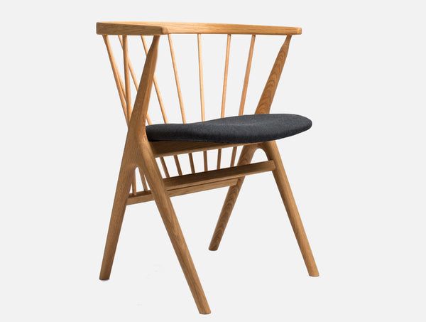 No 8 Dining Chair Oak