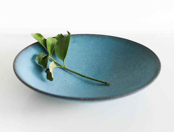 Blue Pigment Wide Bowl