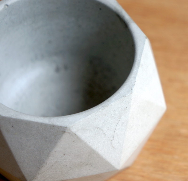 Concrete Polygon Planter M