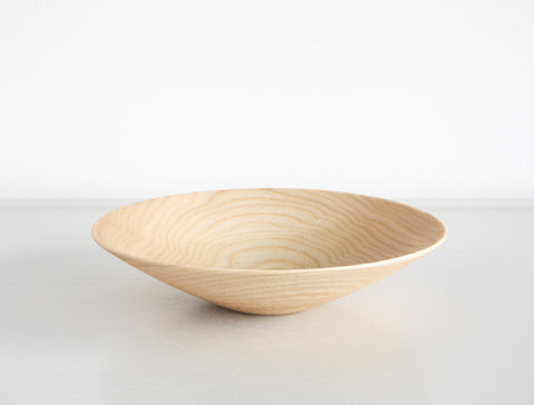 Small Natural Open Bowl by Kihachi Workshop