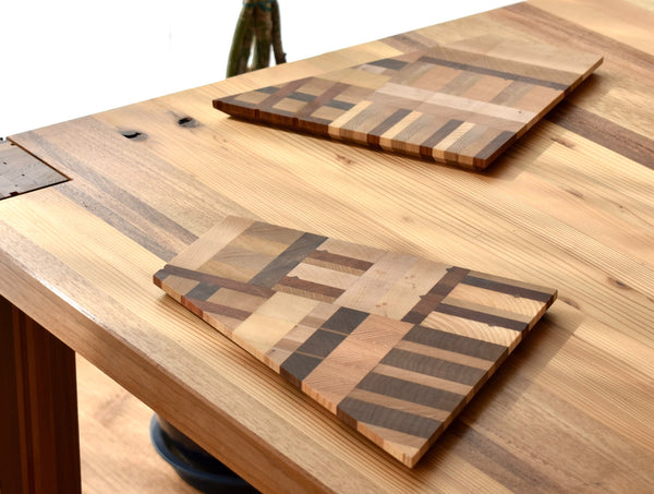 Oblique Wooden Board