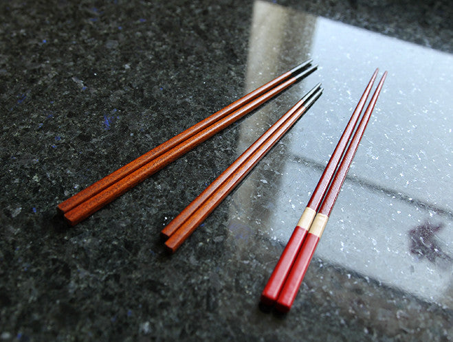 Small Black Tipped Chopsticks