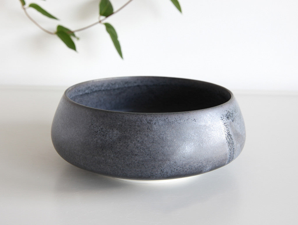 Blue Angled Bowl by Mark Robinson at OEN Shop