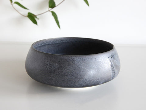 Blue Angled Bowl by Mark Robinson