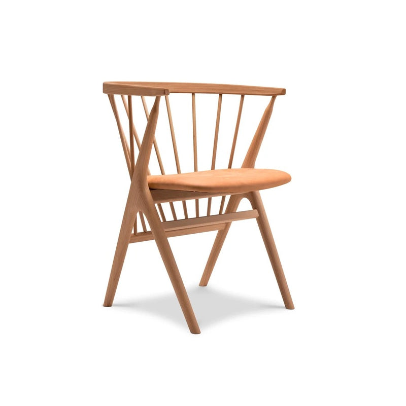 No 8 Dining Chair Beech