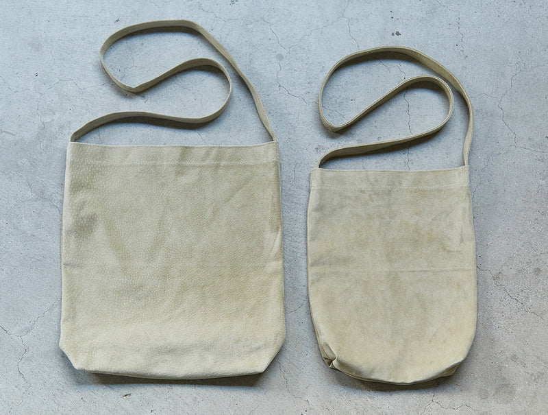 Beige Pig Shoulder Bag
