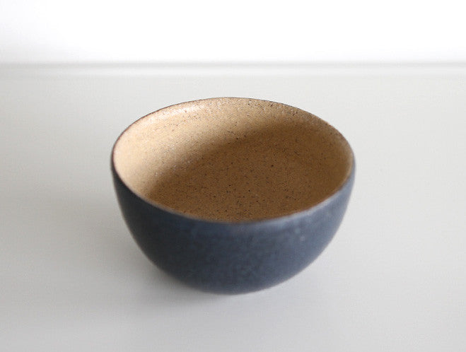 Two Tone Black Bowl by Inima Pottery at OEN Shop