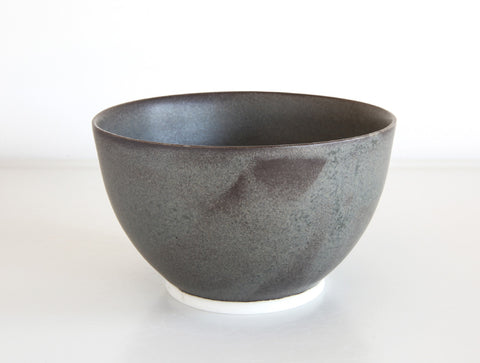 Black Purple Bowl by Mark Robinson