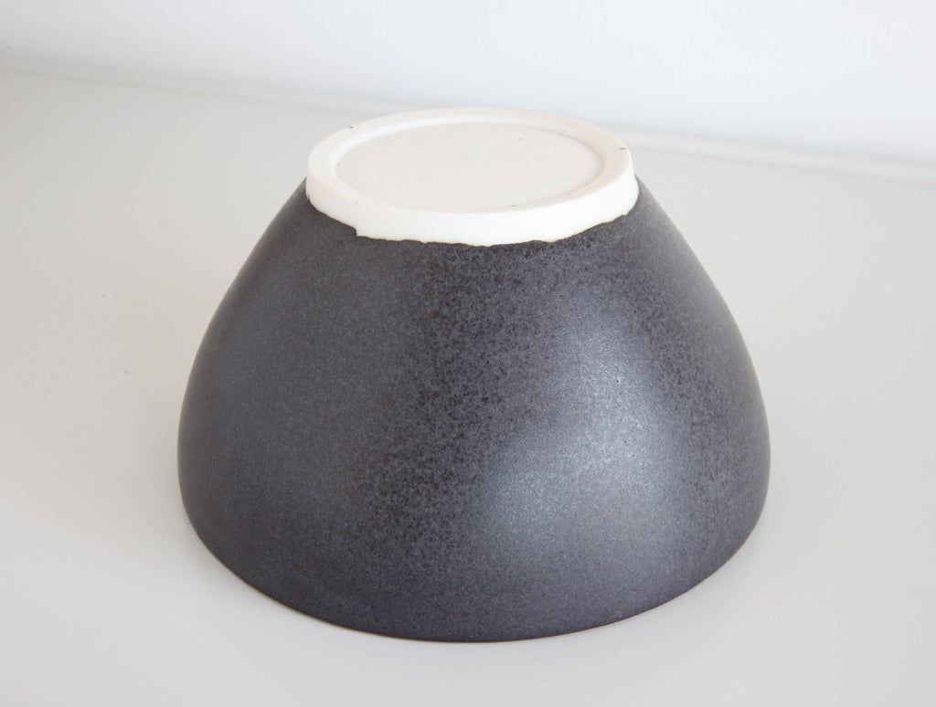 Medium Black Bowl by Mark Robinson at OEN Shop