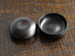 Small Black Container by Maiko Okuno at OEN Shop