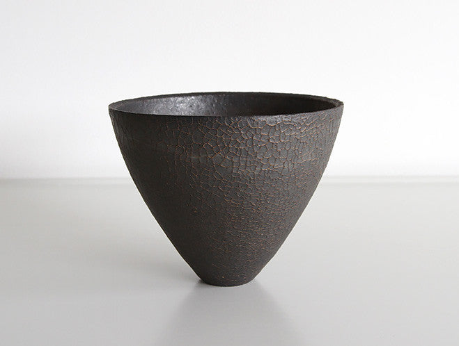 Hibi Kuro Cafe Bowl by Shinobu Hashimoto at OEN Shop