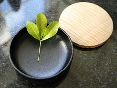 Large Chestnut Lidded Box by Fujii Works at OEN Shop