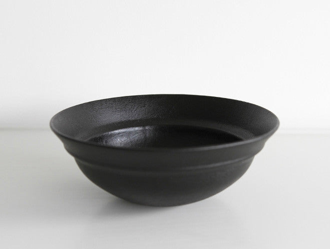 Lipped Lacquer Bowl by Akihiko Sugita at OEN Shop