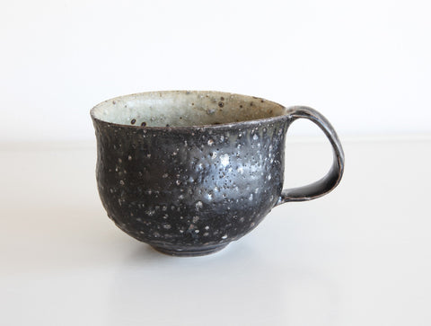 Black Rustic Mug by Shinko Nakanishi