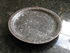 Black Rustic Dish by Shinko Nakanishi at OEN Shop