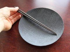 Nuno Lacquer Plate by Fujii Works at OEN Shop