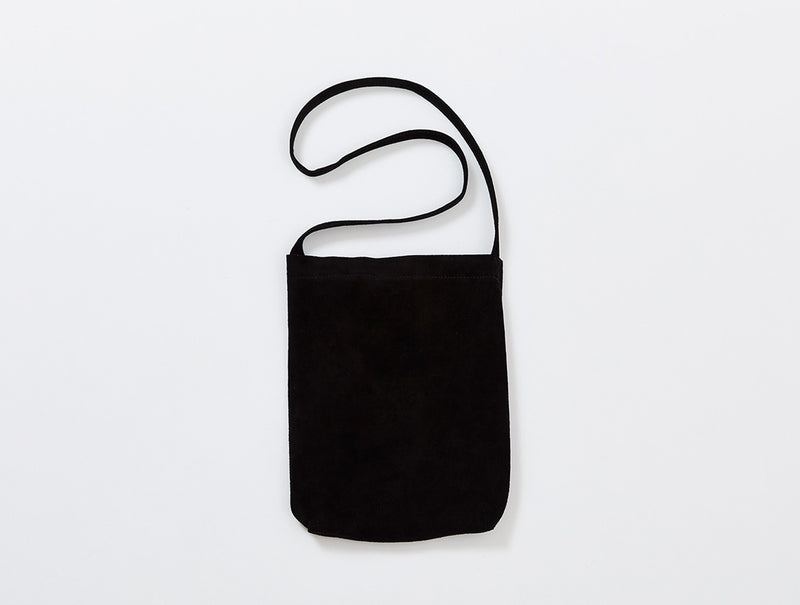 Black Suede Shoulder Bag