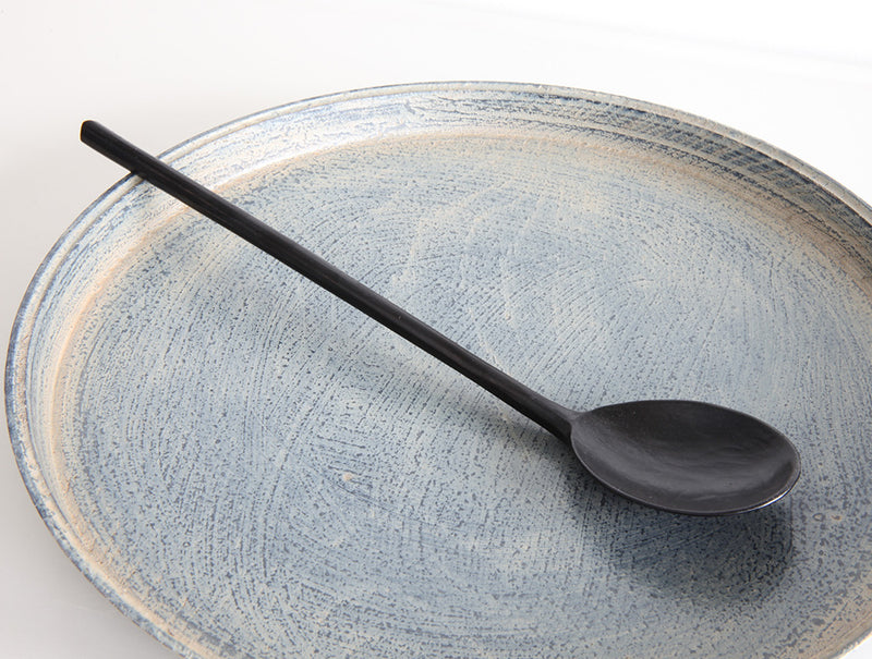 Spoon in Black Lacquer