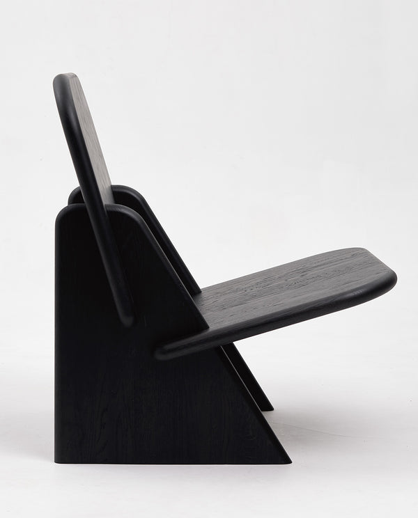 Dolmena Black Oak Chair