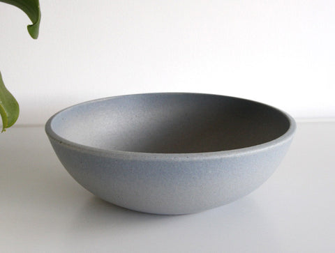 Large Light Blue Bowl by Mushimegane Books