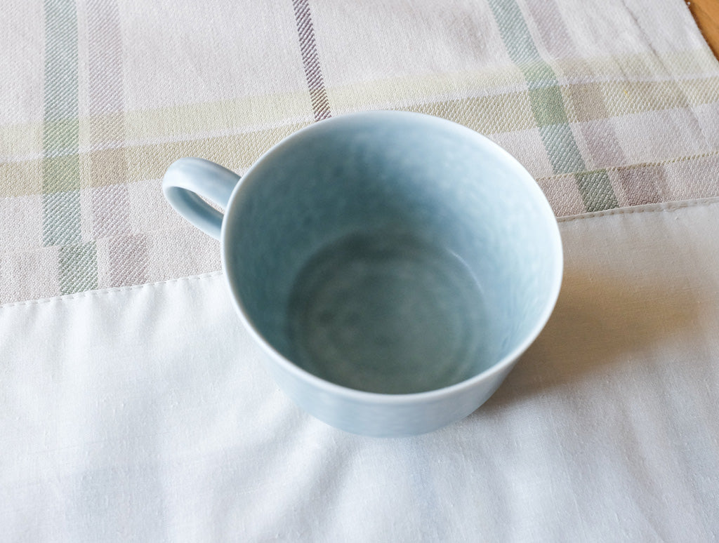 ReIRABO Spring Green Cup by Yumiko iihoshi at OEN Shop