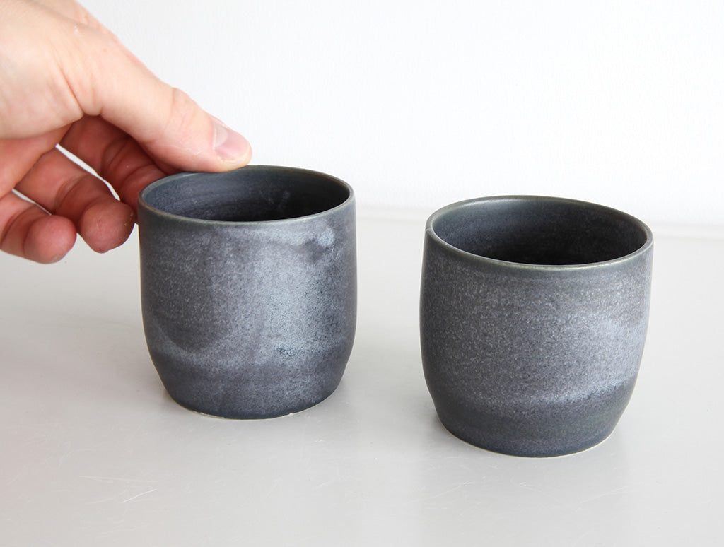 Grey Blue Small Cup by Mark Robinson at OEN Shop