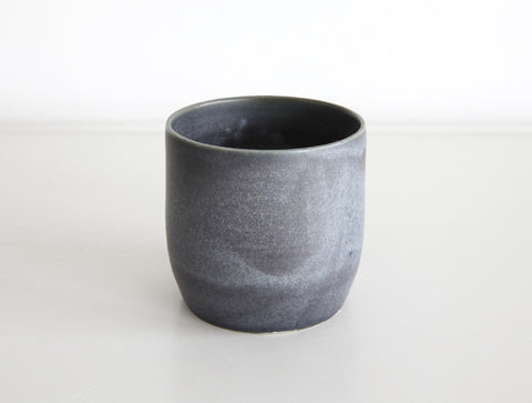 Grey Blue Small Cup by Mark Robinson