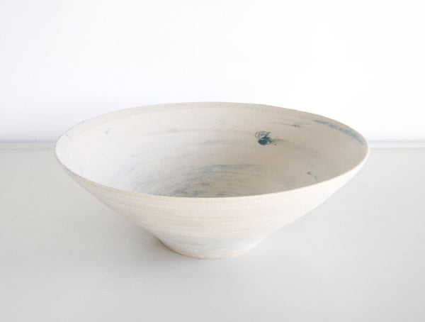 Textured Blue Large Bowl