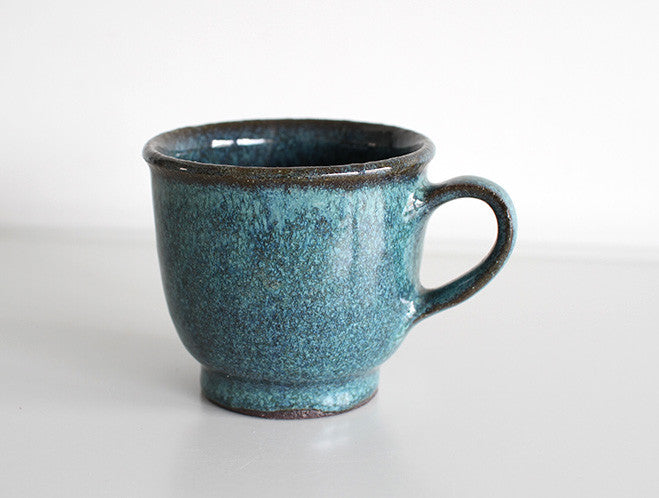 Round Jade Mug by Motoharu Ozawa at OEN Shop