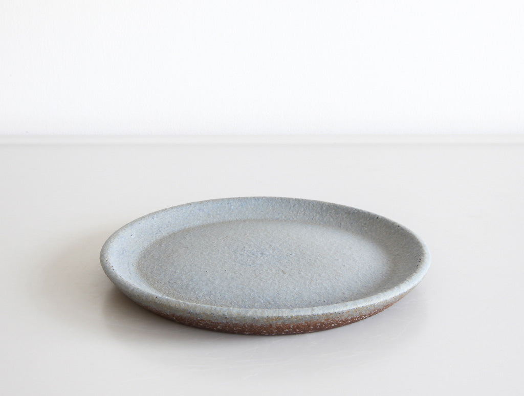 Small Blue Coral Dish by Mushimegane Books at OEN Shop