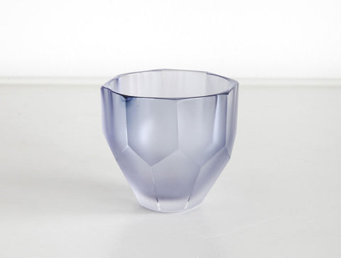 Blue Sake Glass by Yuki Osako