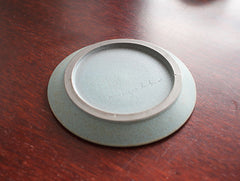 Small Blue Plate by Mushimegane Books at OEN Shop