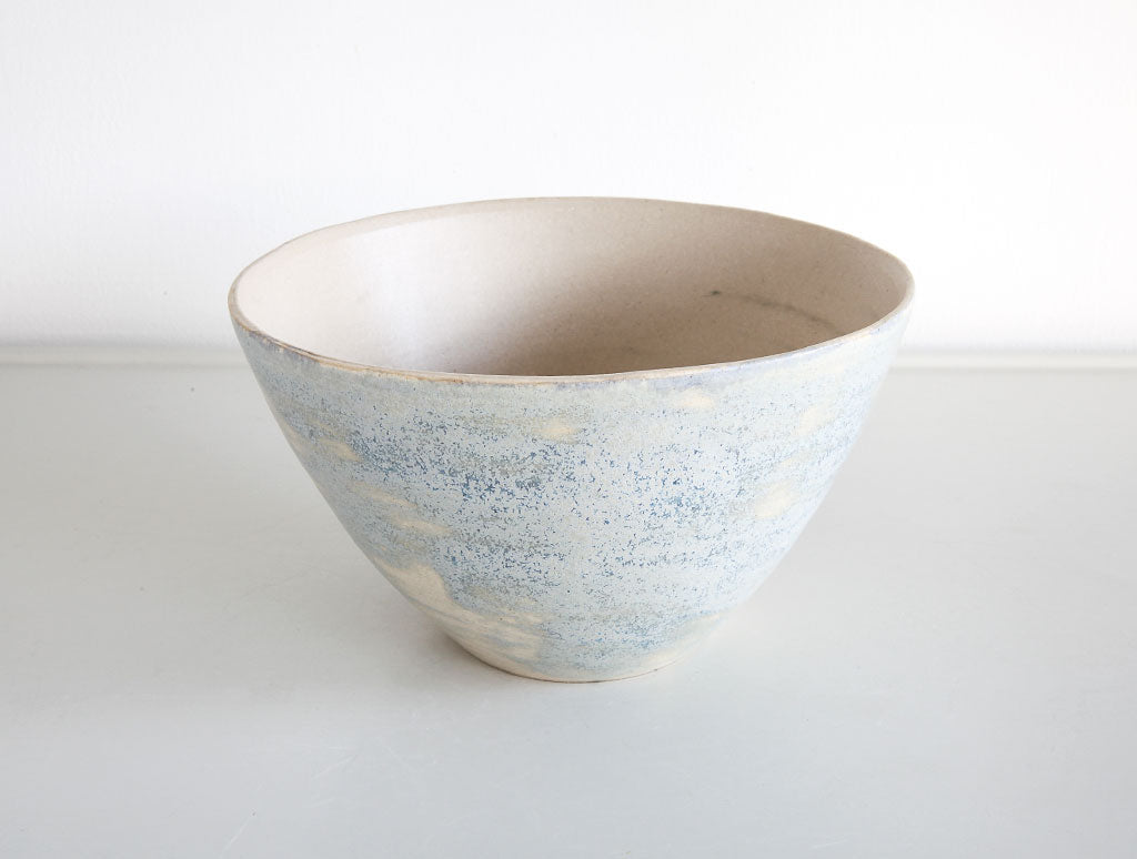 Medium Blue Stained Bowl by Mark Robinson at OEN Shop