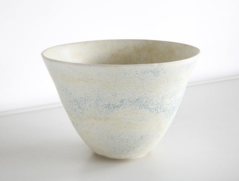 Large Yellow Blue Bowl by Mark Robinson