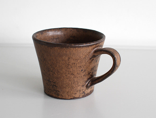 Bronze Mug by Motoharu Ozawa at OEN Shop