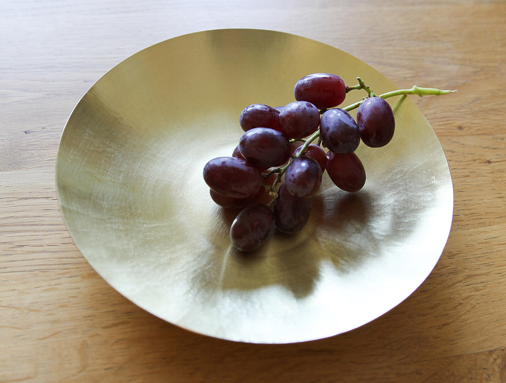 Large Brass Bowl by Yuta Craft at OEN Shop