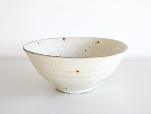 Spotted White Bowl