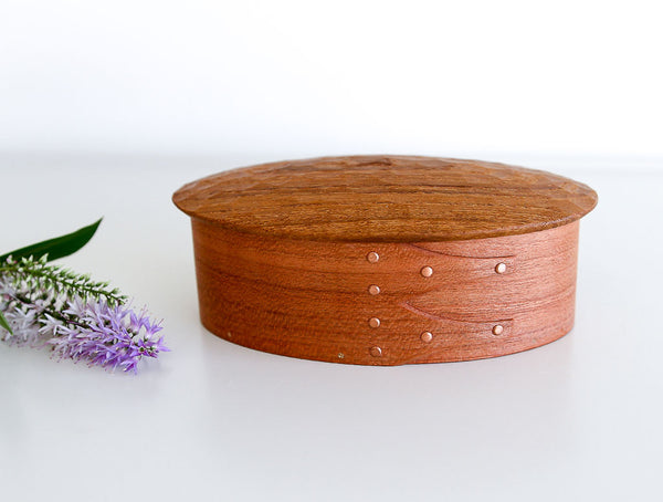 Oval Carved Box