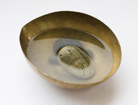 Brass Bowl by Lue Brass