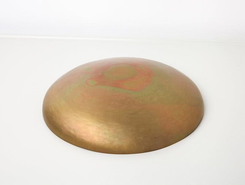 Shallow Brass Bowl