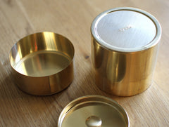 Round Brass Can by SyuRo at OEN Shop