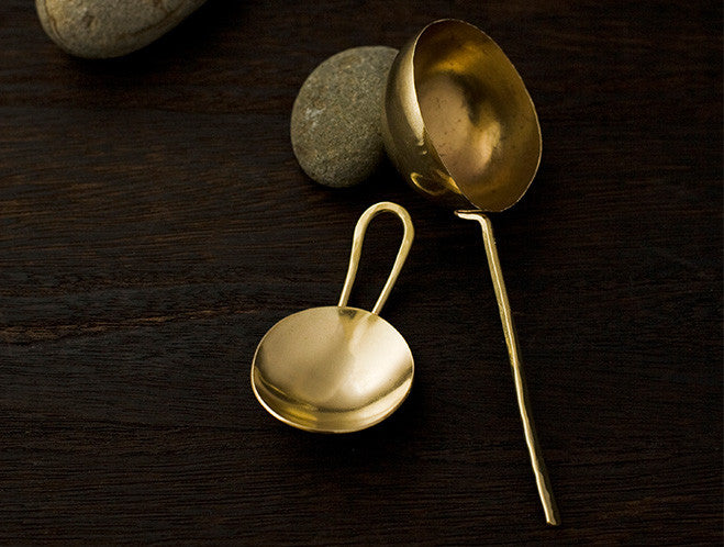 Brass Coffee Measure