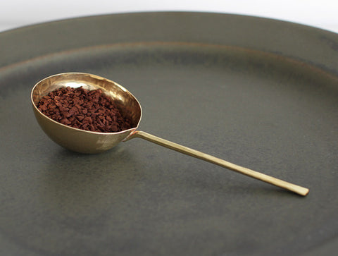 Brass Coffee Measure by Lue Brass